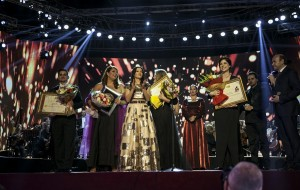 The winners of the 14th International Operatic Competition Marie Kraja